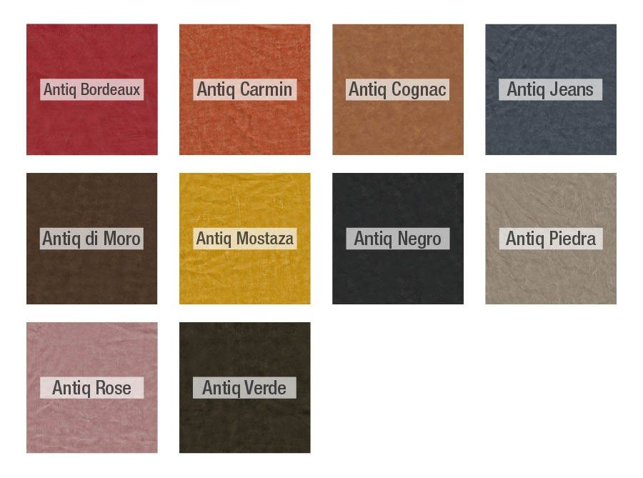 Fama Antique leather samples