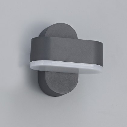 Marana coastal outdoor anthracite single wall light