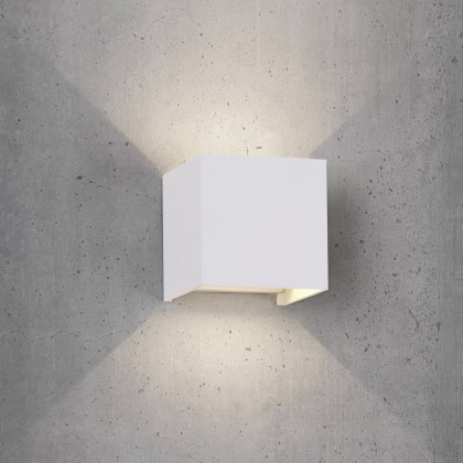 Davo Coastal Qube white wall light