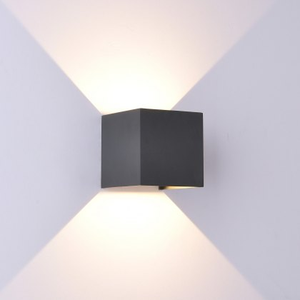 Davo Coastal Qube anthracite wall light