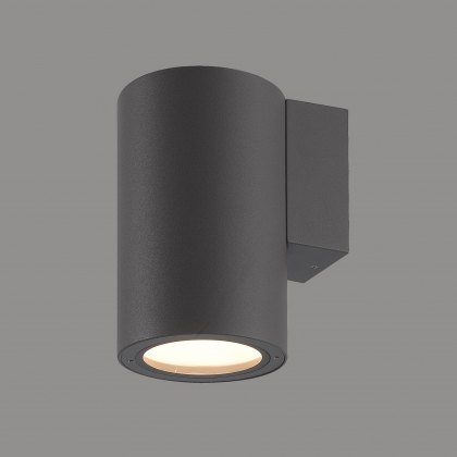 Volcan Coastal Single Round graphite wall light