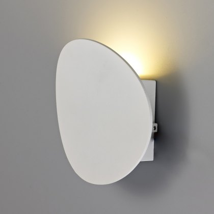 Mea Coastal wash white wall light