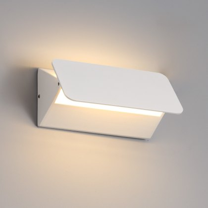 Flip coastal wash white wall light