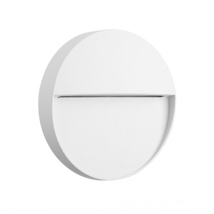 Barker Coastal Disc white wall light