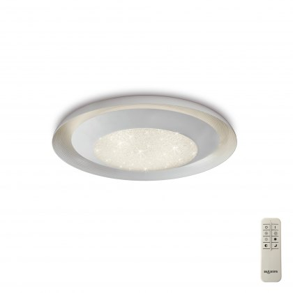 Galaxy White Tunable Medium flush light