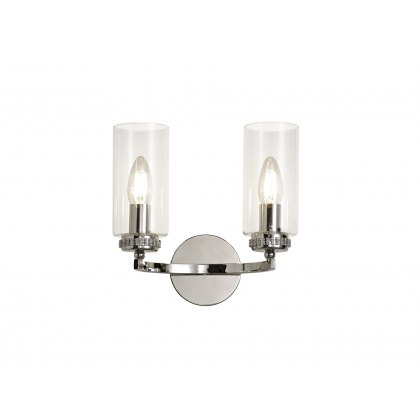 Domecelle Nickel Double Wall Light