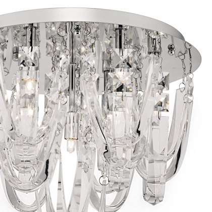 Royston 7 Lt semi flush