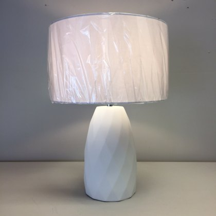 Cool White table lamp