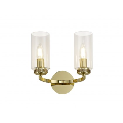 Domecelle Gold Double Wall Light