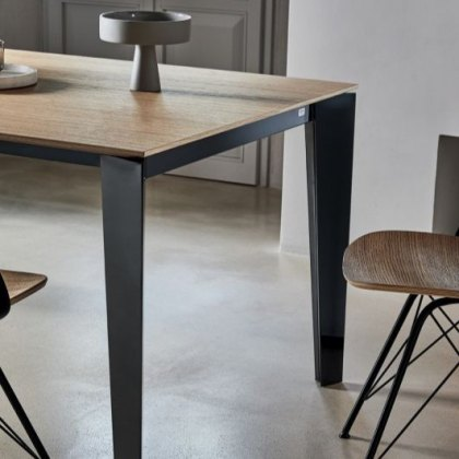 Cruz Wood extending dining table