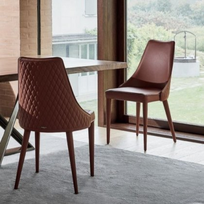 Bontempi Casa Clara Wrapped dining chair