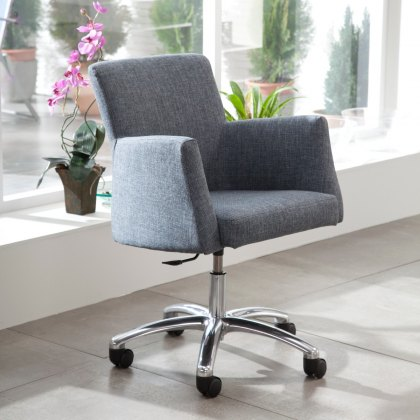 Fama Elvis leather home office chair