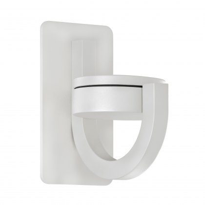 Lugo Coastal swivel white outdoor wall light