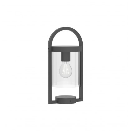 Mahon Coastal Outdoor Anthtacite Pillar Light