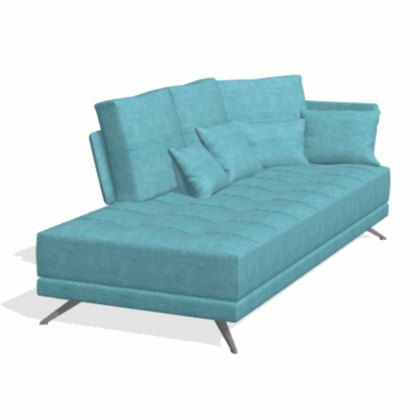 Fama Pacific 4 seater AZ chaise