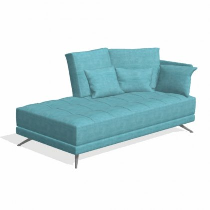 Fama Pacific 3 seater BZ chaise