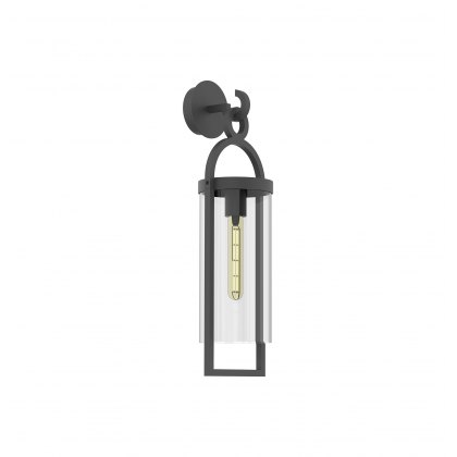Mahon Coastal Outdoor Anthtacite Medium Lantern Wall Light