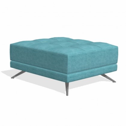 Fama Pacific rectangular PQ footstool