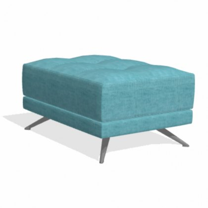 Fama Pacific rectangular PS footstool
