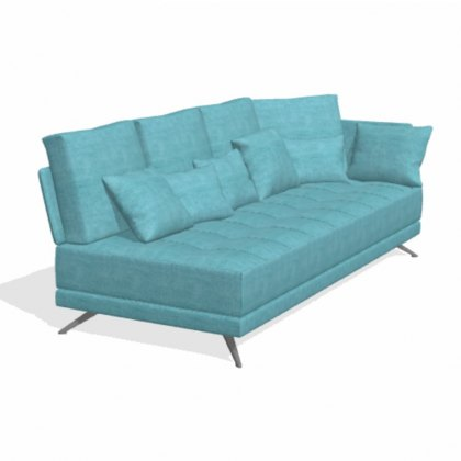 Fama Pacific 4 seater AL with 1 arm sofa module