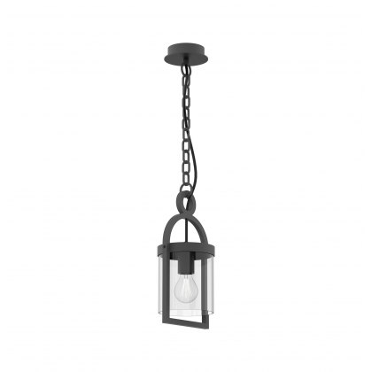 Mahon Coastal Outdoor Anthtacite Large Lantern Pendant Light
