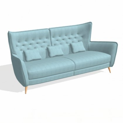 Fama Simone 4 seater B12 (in 2 pieces)