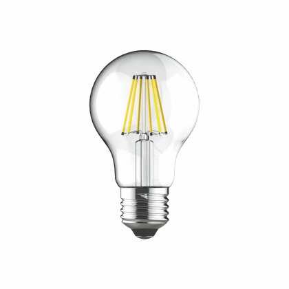 E27 LED GLS 8w 2700k 806lm dimmable clear lamp