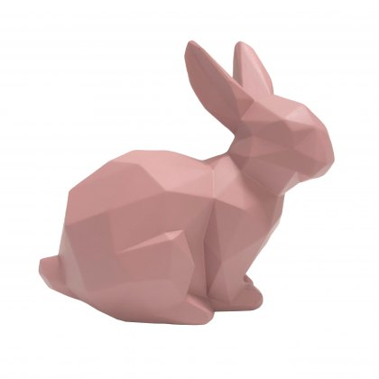 Pink Origami bunny