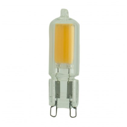 G9 LED 2.5w 4000k 250lm clear glass lamp