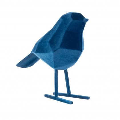 Blue floked Origami bird