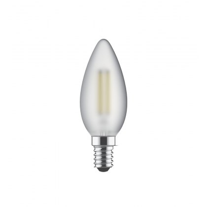 E14 LED Candle 2700k 470lm frosted lamp
