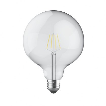 E27 LED Globe 12.5cm 806lm 2700k clear lamp