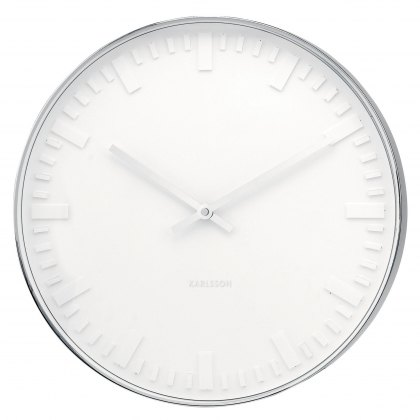 Mr White Station wall clock