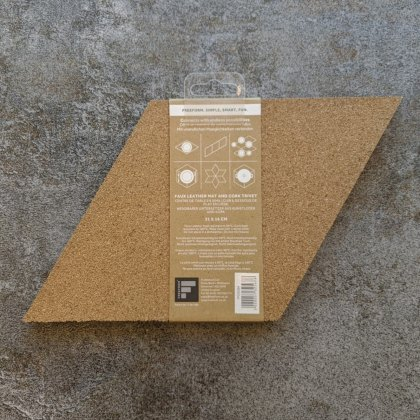 Connect mat/trivet diamond taupe