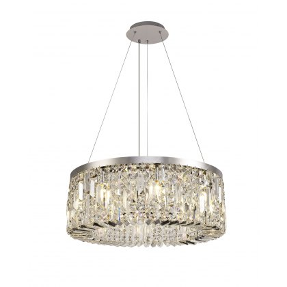 Zahara 8 chrome pendant