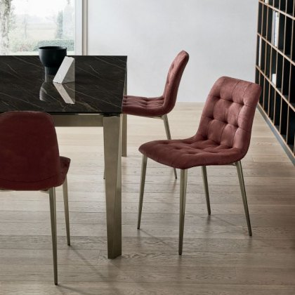 Bontempi Casa Kuga slim dining chair