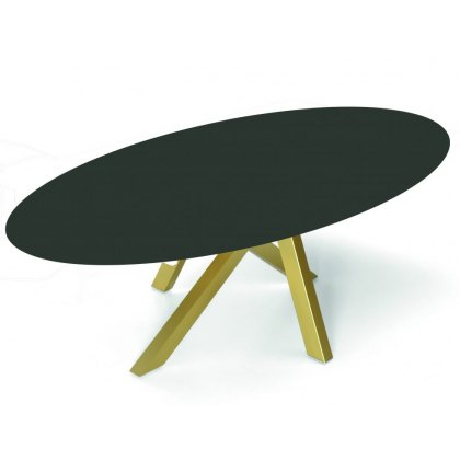 Madrid oval dekton dining table