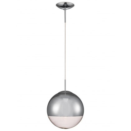 Globe 30 chrome pendant