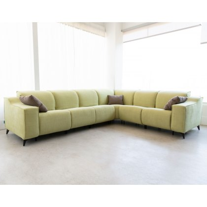 Fama Baltia 6 seater narrow corner sofa