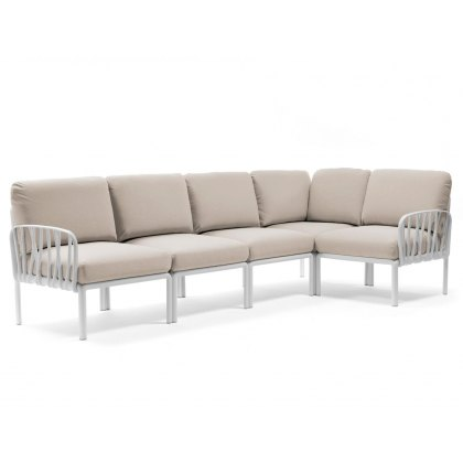 Nardi  Komodo outdoor 5 seater corner sofa