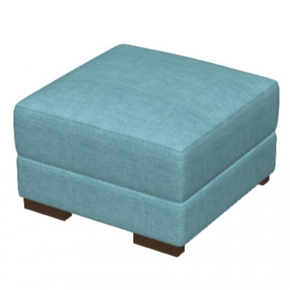 Fama Loto Fabric Footstool