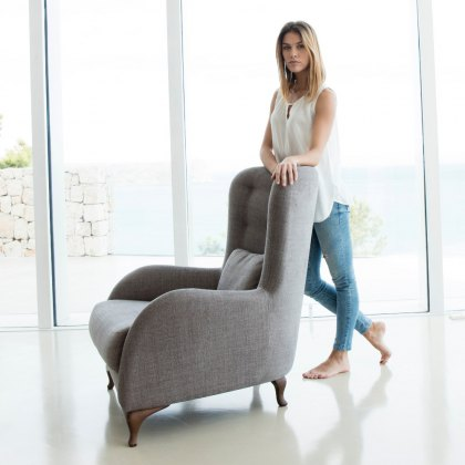 Fama Aston Fabric Armchair