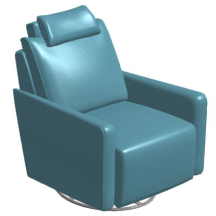 Fama Bonne Leather Power Recliner Armchair