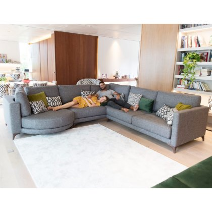 Fama Opera 3 seater Corner with Chaise Left