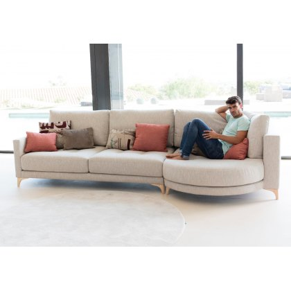 Fama Opera Chaise Right Module