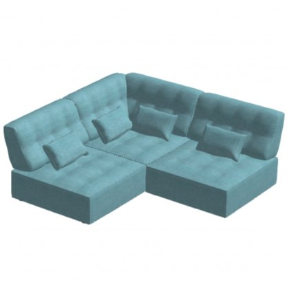 Fama Arianne Love Small Corner Sofa