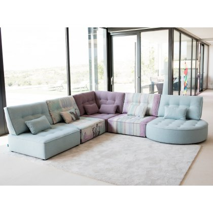 Fama Arianne Love Double Corner Chaise Sofa