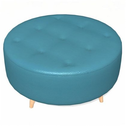 Fama Astoria leather Footstool PUFRL