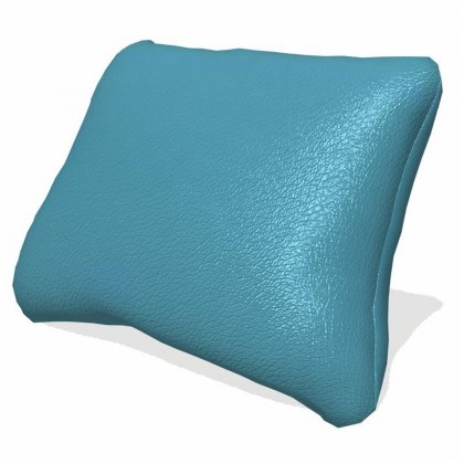 Fama Astoria leather lumbar cushion