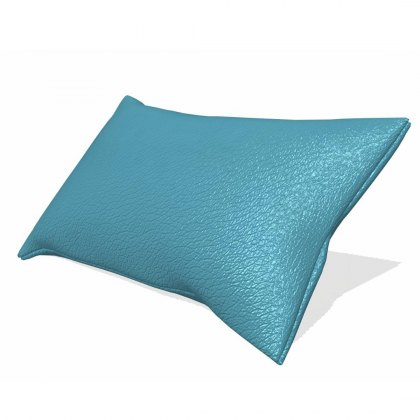 Fama Astoria leather butterfly headrest cushion